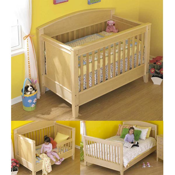 Bed For All Ages Woodworking Plan