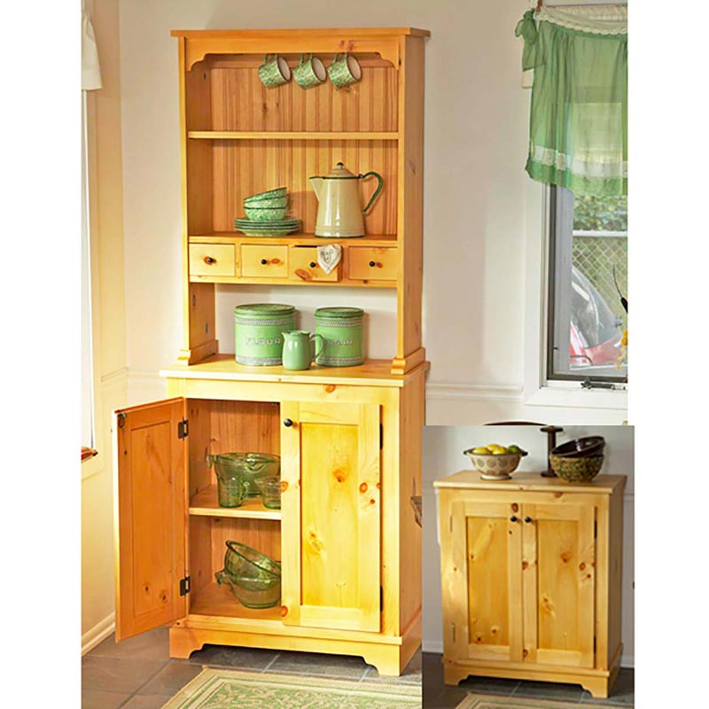 Country Pine Cabinet Woodworking Plan Wood Magazine