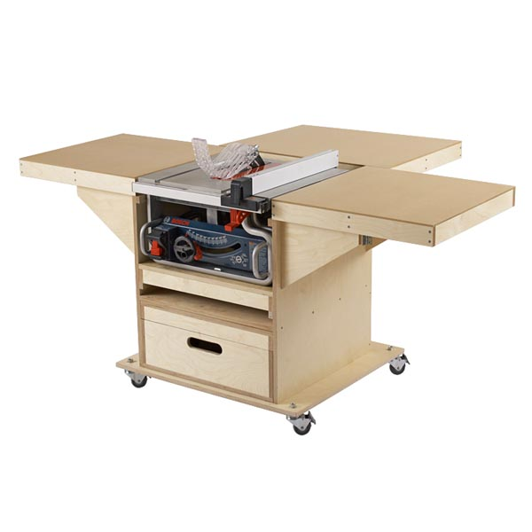 Quick Convert Tablesaw Router Station Woodworking Plan Wood Magazine