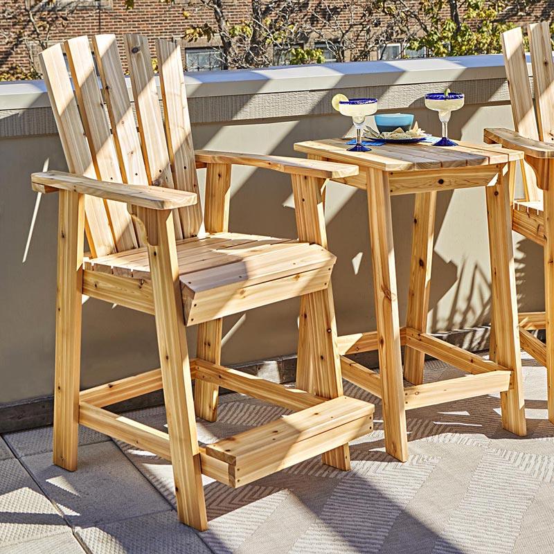 High Style Adirondack Pair Woodworking