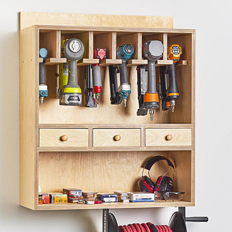 Nailer Station Woodworking Plan Wood