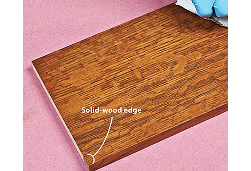 Match Edge Trim To Plywood