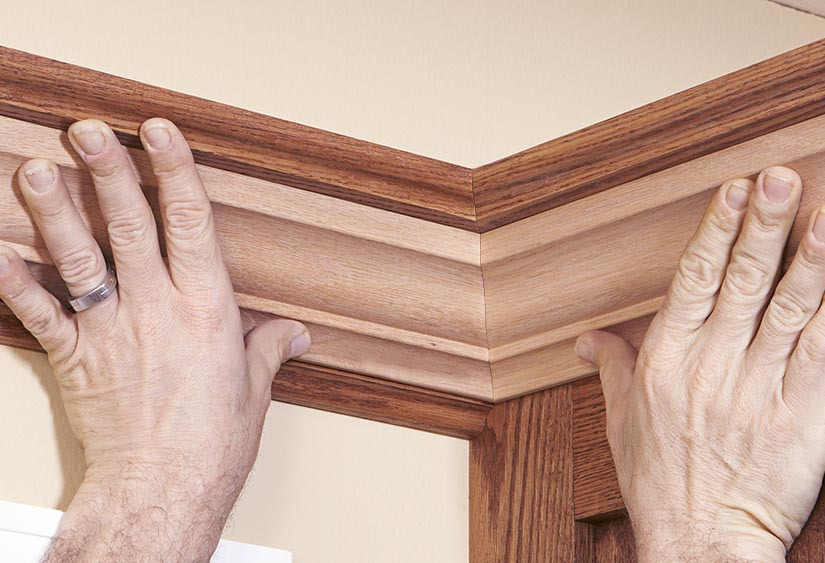 what angle to cut crown molding corner cabinet | www ...