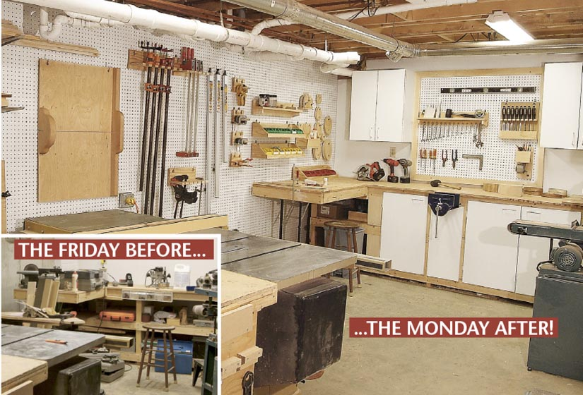 Organize Your Shop In A Weekend Wood Magazine