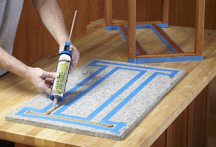 How Do I Attach A Granite Tabletop