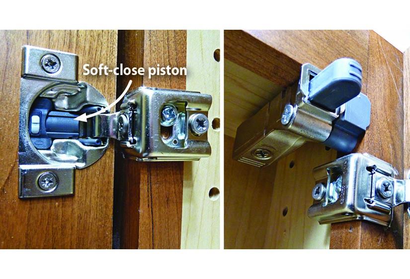 How Do I Retrofit Cabinets With Soft Close Hardware Wood Magazine
