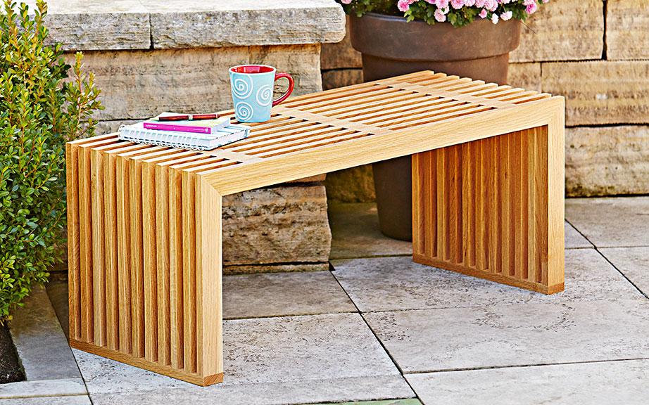 Indoor/Outdoor Bench