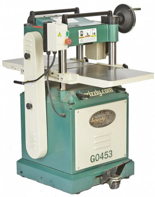 "Grizzly G0453 15"" 3-hp Planer"
