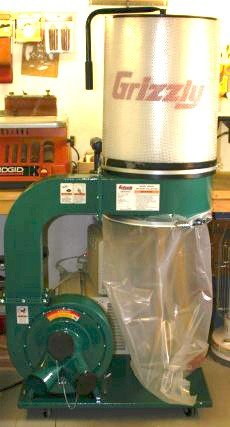 Grizzly 2 HP Dust Collector