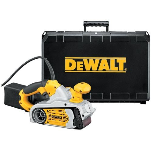 "DeWalt 3"" X 21"" Variable Speed Portable Belt Sander DW433K"