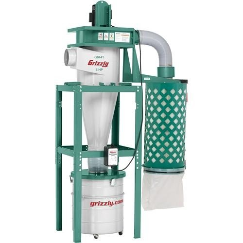 Grizzly 3 HP Cyclone Dust Collector