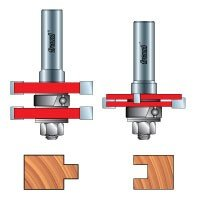 Freud 99-036 Adjustable Tongue and Groove Router Bit Set