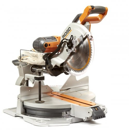 "Ridgid 12"" Sliding Compound Mitersaw"