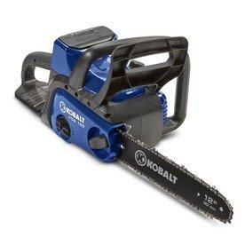 Kobalt 40-volt chainsaw (KCS 120-06)