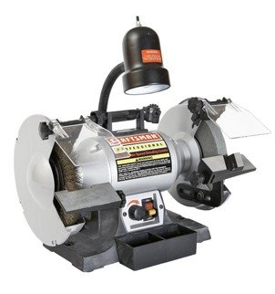 "Craftsman 8"" Variable Speed Bench Grinder"