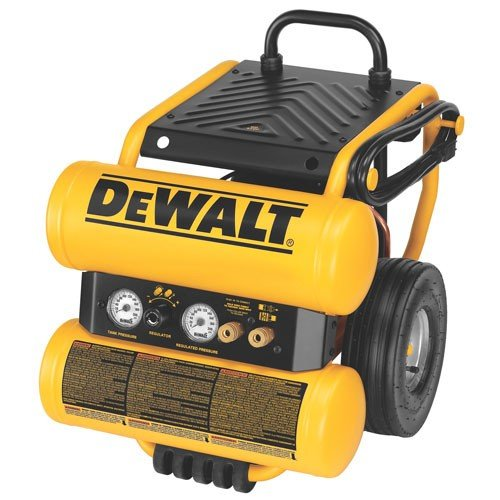 DeWalt 4 Gallon Wheeled Compressor #D55154