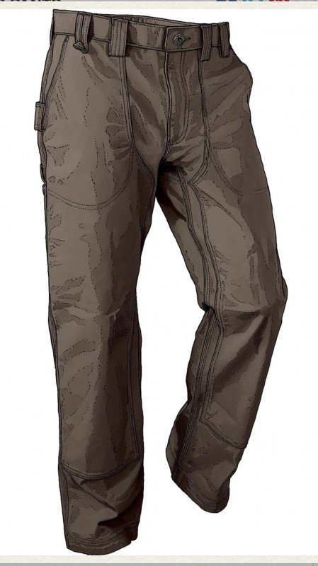 Duluth Trading Men's DuluthFlex Fire Hose Logger Pants