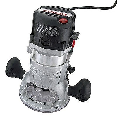 Craftsman 2 HP Fixed Base VS Router #02768