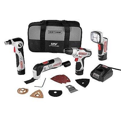 Craftsman 12V NEXTEC Combo Kit