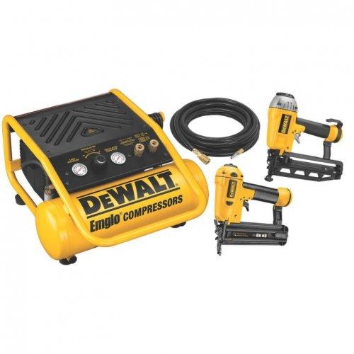 DeWalt Brad Nailer/Compressor Kit