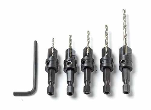 Insty-Bit Countersinking Drill Set