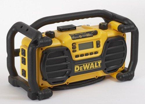 DeWalt 7.2V–18V Jobsite Radio