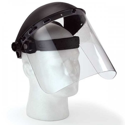 Safety Works Adjustable Face Shield