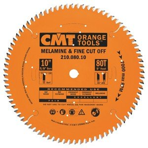 "CMT 10"" x 80 Tooth Saw Blade"