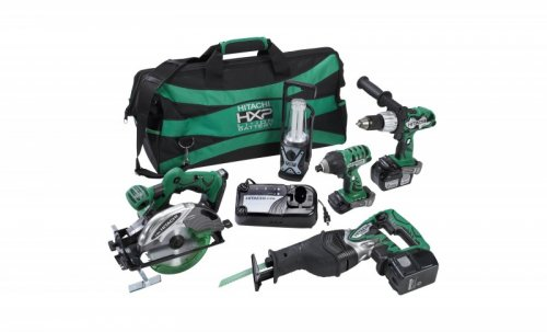 Hitachi 18V 5-Tool Combo Kit