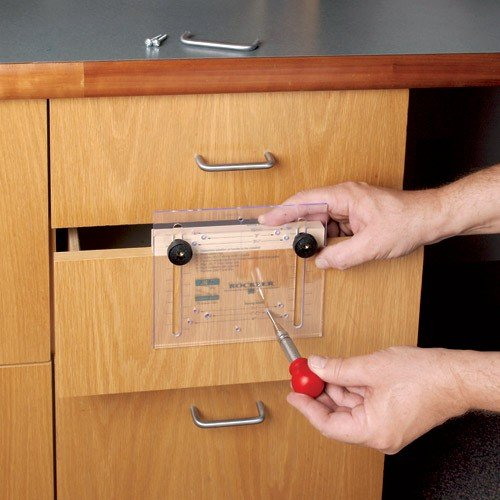 Rockler Drawer Pull Jig It Template
