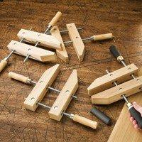 Rockler Wooden Handscrew Clamps