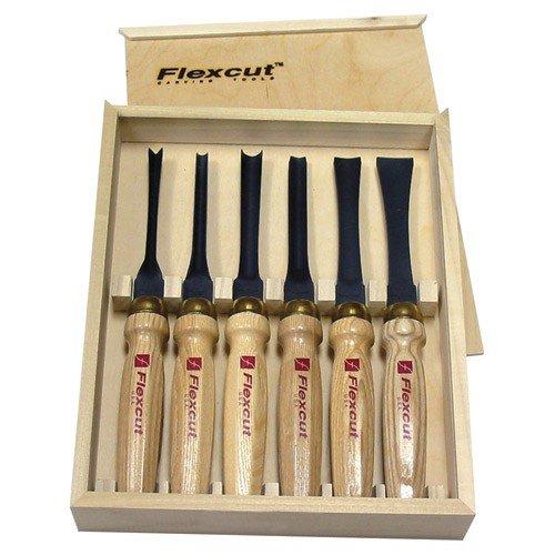 Flexcut 6-Piece Carving Chisels Set