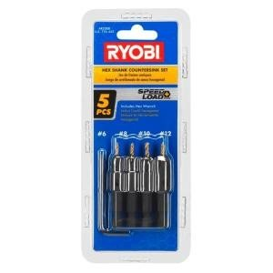 Ryobi Power Groove Countersink Set