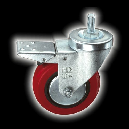 "Hart Design 3"" Swivel Spindle Caster"