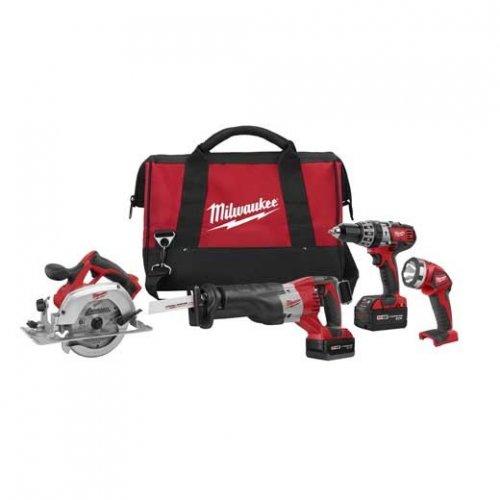 Milwaukee 18V 4-Tool Kit