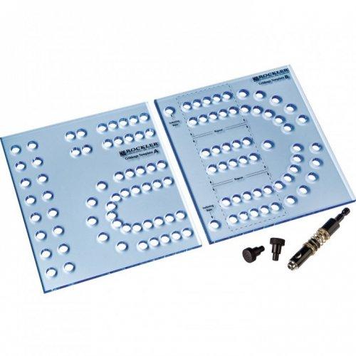 Rockler XL Cribbage Board Templates