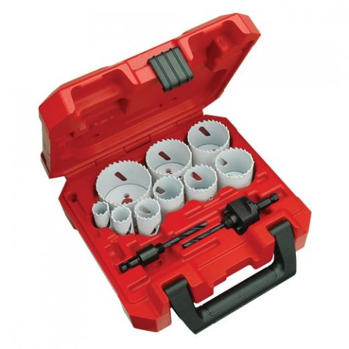 Miwaukee 13 piece ice hardened hole saw kit