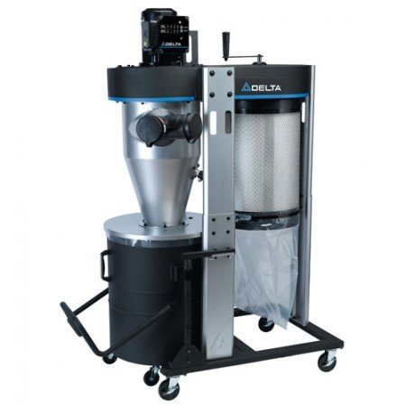 Delta Portable Cyclone Dust Collector
