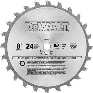 """DeWalt 7670 8"""" Dado Blade"""