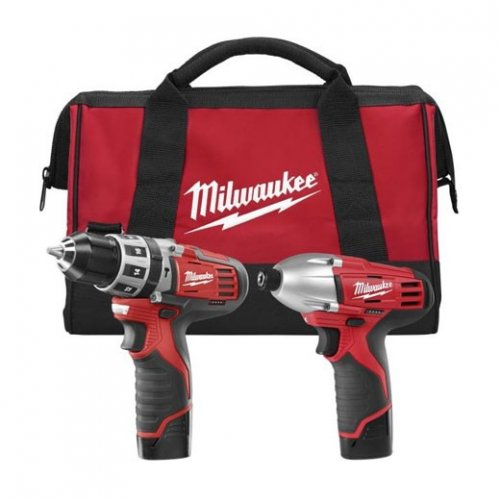Milwaukee 12V Hammer/Impact Driver Kit