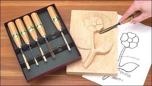 Henry Taylor 6-Piece Carving Set
