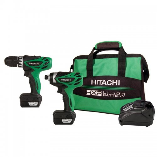 Hitachi 12V Driver Combo Kit