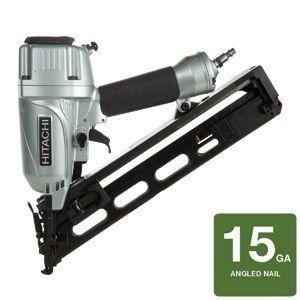 Hitachi 15-Gauge Angled Finish Nailer
