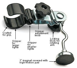 Lee Valley Flashlight Holder