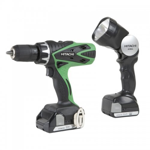 Hitachi 18V Hammerdrill/Light Combo