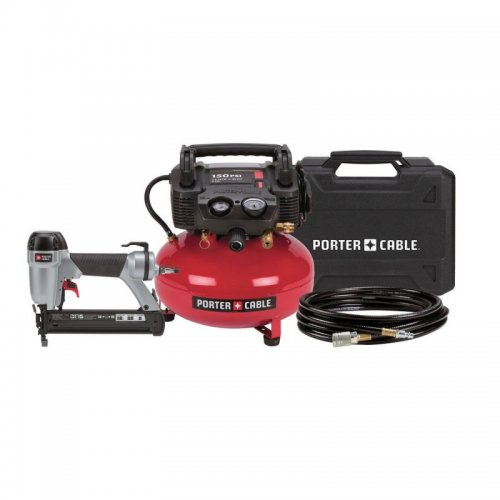 Porter-Cable Brad Nailer/Compressor Kit