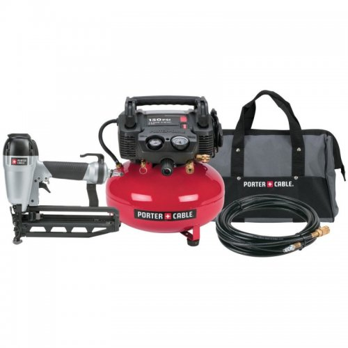 Porter-Cable Finish Nailer/Compressor Combo Kit #PC1PAK