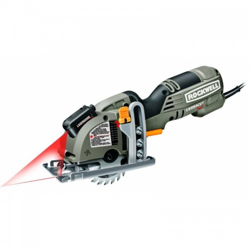 Rockwell VersaCut Mini Circular Saw with Laser