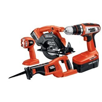 Black & Decker 18V Four-Tool Kit