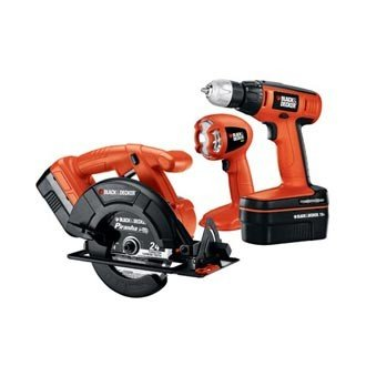 Black & Decker 18V Three-Tool Kit